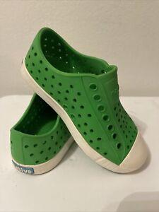 Native Kids Shoes Jefferson (Toddler/Little Kid) C9 Grasshopper Green