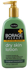 Shikai Borage Dry Skin Lotion Original Therapy Relief Dry and Itchy Skin 8 oz