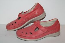 SAS Comfort Casual Shoes, #B3197046, Pink, Leather, Womens US Size 8.5