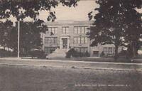 Postcard May's Landing High School May's Landing NJ