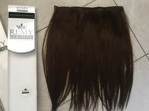 "100% HUMAN HAIR EXTENSIONS. PREMIUM REMY HAIR BY SLEEK WEAVE. 16-17"" Colour 6"
