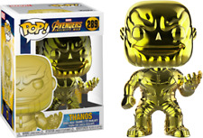 Avengers 3: Infinity War - Thanos Yellow Chrome US Exclusive Pop! Vinyl - NEW
