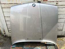 BMW 3er E30 Motorhaube silber