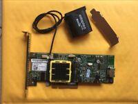 Adaptec ASR-5405Z 512MB SATA SAS 4-Ports RAID PCI Express x8 Controller +Battery