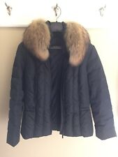 Ladies Andrew Marc Down Jacket Fur Trim - Size PL - EUC