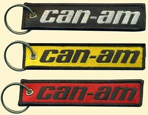 Can-am Embroidered Key Chain, 3 wheel motorcycles, Motorbikes, off road vehicles