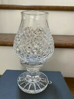 Waterford Crystal Hurricane Lamp 8'' Includes Box