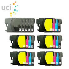 25 Ink Cartridge For Brother LC985 DCP-J125 DCP-J140W DCP-J315W DCP-J515W