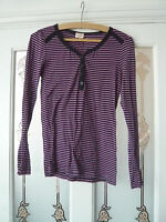 Lovely pink and navy striped top by Whistles size 3