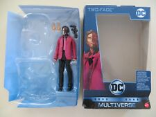 DC MULITIVERSE ALL-STAR BATMAN TWO-FACE FIGURE CLAYFACE COLLECT & CONNECT BAF