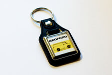 Bedford CF Keyring - Leatherette & Chrome Retro Classic Van Auto Keytag