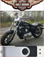 2016 Harley Davidson Sportster Service Repair Manual On USB Drive