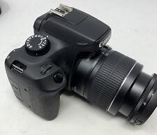 Canon EOS 4000D 18 MP Digital SLR Camera  - Black Lens / Bag Etc