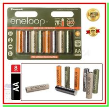 8 Eneloop Pile Ricaricabili AA Batterie Stilo 1900mAh NiMH Expedition HR6