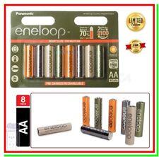 8 Eneloop Pile Ricaricabili AA Batterie Stilo 1900mAh NiMH Expedition HR6