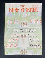 COVER ONLY ~ The New Yorker Magazine, August 25, 1980 ~ J. J. Sempe