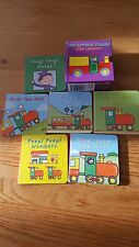 Set di 6 libri libri per bambini Il mio piccolo Treno Mini Borsa Festa della libreria fillertoy