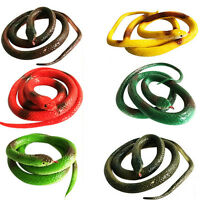 1 Pcs Simulation Snake Rubber Fake Funny April Fool Joke Funny Gags Trick Toy AT