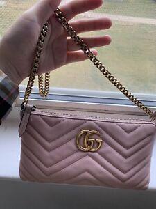 Gucci Marmont Matelasse Calfskin Mini GG ChainBag