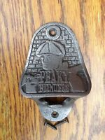 Cast Iron Bottle Opener/Wall Mounted/Heavy/Car/Rustic/Antique Bar/PEAKY BLINDERS