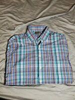 Men's Peter Millar Summer Comfort Long Sleeve Button Down Dress Shirt Size XL