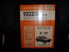 RTA VW Volkswagen Polo 1 / Derby / Audi 50 - Revue Technique Automobile