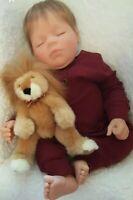 🦁 MIDDLETON Doll ~Sleeping 👀 Auburn Hair ~ REVA SCHICK ~ Lions Tigers n Bears