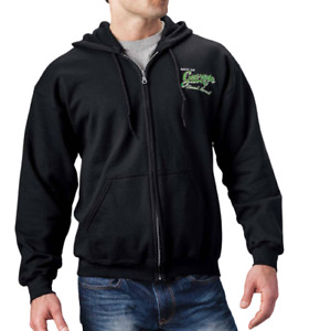 Arctic Cat Men's Garage Sweatshirt Hoodie Black Size XL Extra Large Wildcat