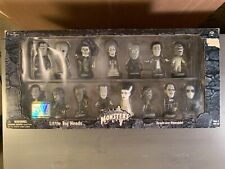 Universal Monsters Sideshow Silver Screen Edition Little Big Heads 2000 Box Set