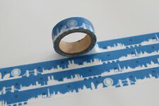London Silhouette Washi Tape, Craft Decorative Tape