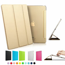 Ultra Slim Clear Magnetic Leather Smart Cover Case For Apple iPad Pro 10.5 12.9