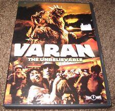 Varan The Unbelievable DVD R1 OOP Authentic Tokyo Shock Media Blasters TOHO