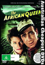 The African Queen DVD NEW, FREE POSTAGE WITHIN AUSTRALIA REGION ALL