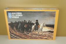 "2000 pc F.X. Schmid Puzzle Napoleon on Campaign SEALED NEW 36-1/4"" x 25-1/2"""