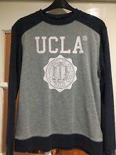 UCLA Men's Jumper. Size Large. Blue & Grey. [FREE TRACKED POSTAGE]