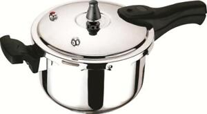 5L Stainless Steel Pressure Cooker Suitable For Induction Hob For Families
