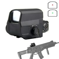 LCO Optic Holographic Red Dot Sight Rifle scope Fit 20mm Rail Mount For Airsoft