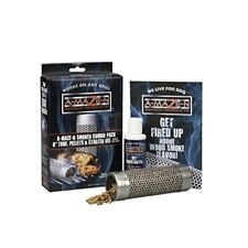 A-Maze-N 6 In. Stainless Steel Wood Pellet Grill Tube Smoker Combo Pack