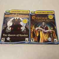 Big Fish Collector's Edition 2 PC CD Hidden Object Games Dracula Haunted Legends