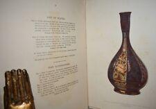 ARTE ISLAMICA - Wallis: PERSIAN ORIENTAL CERAMIC ART con Tavole 1893 Persia Iran