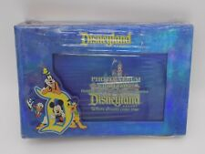 """Disneyland Resort Park Photo Album with Frame Holds 100 4""""x6"""" Photos 50 Pages"""