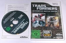"Nintendo wii jeu ""transformers ultime battle Edition (2 en 1)"" complet"