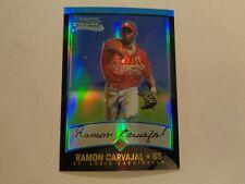 2001 Bowman Chrome Refractor Ramon Carvajal Card #114