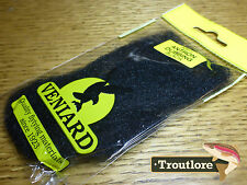 Black Veniard Antron Dubbing - Fly Tying Dub Synthetic Material