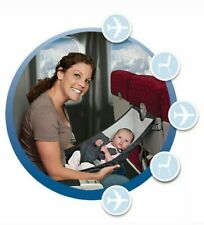 FLYEBABY INFANT AIRPLANE TRAVEL SEAT - ALSO SERVES AS PORTABLE HIGH CHAIR!