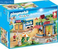 PLAYMOBIL® City Life 4er Set 9454 9455 9456 9457 Turnhalle Klasse Chemie Kiosk