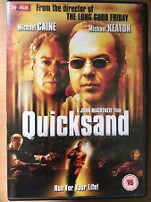 MICHAEL CAINE MICHAEL KEATON QUICKSAND ~2003 POLIZIESCO THRILLER UK DVD