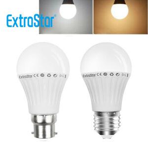 6Pack 9W LED Bulb B22 Bayonet E27 Screw GLS Lamp Light Bulbs Daylight Warm White
