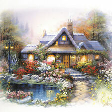 "Chamberart Jigsaw Puzzle 300pcs [Paper] 9.8*13.4"" (25*34cm) A Dream House"