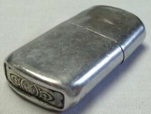 Vintage French Ministere De Finances Aluminum Trench Lighter